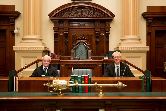House of Assembly Clerk and Deputy Clerk